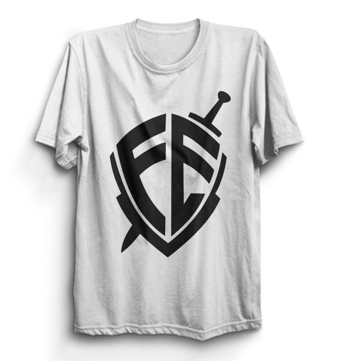 938801105e Blusa Evangélica Camiseta Gospel Frases Da Bíblia  promoção no Elo7 ...