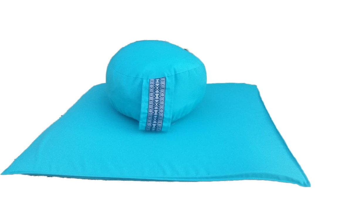 kit zafu e zabuton zen zazen meditação almofada no elo7 thais