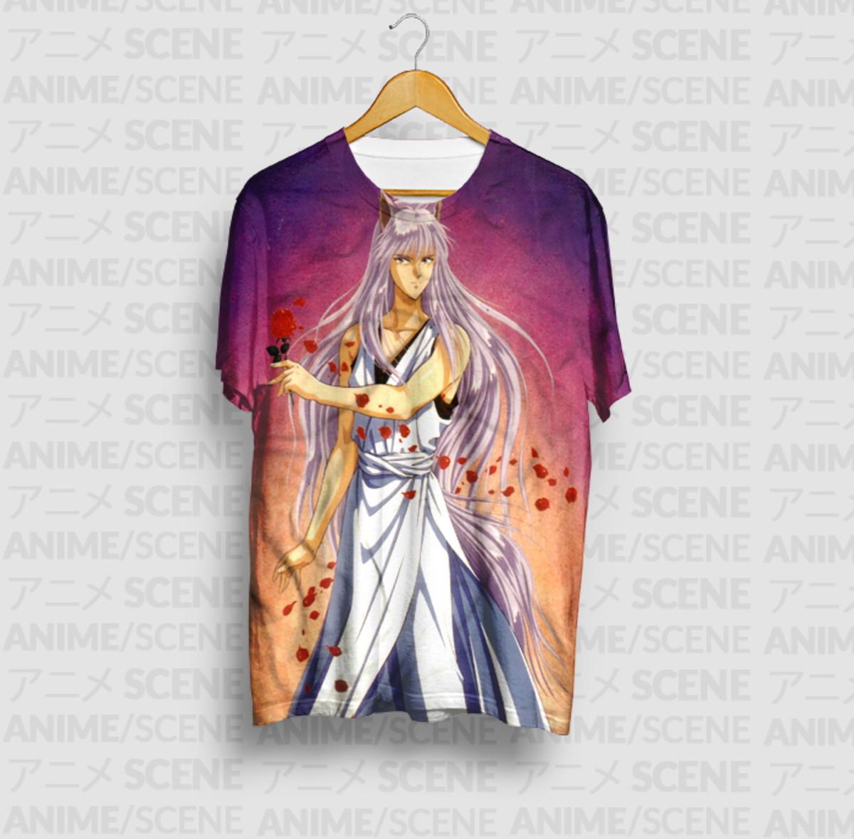Camiseta Kurama Demon Mode - Yu Yu Hakusho no Elo7 | PS ...