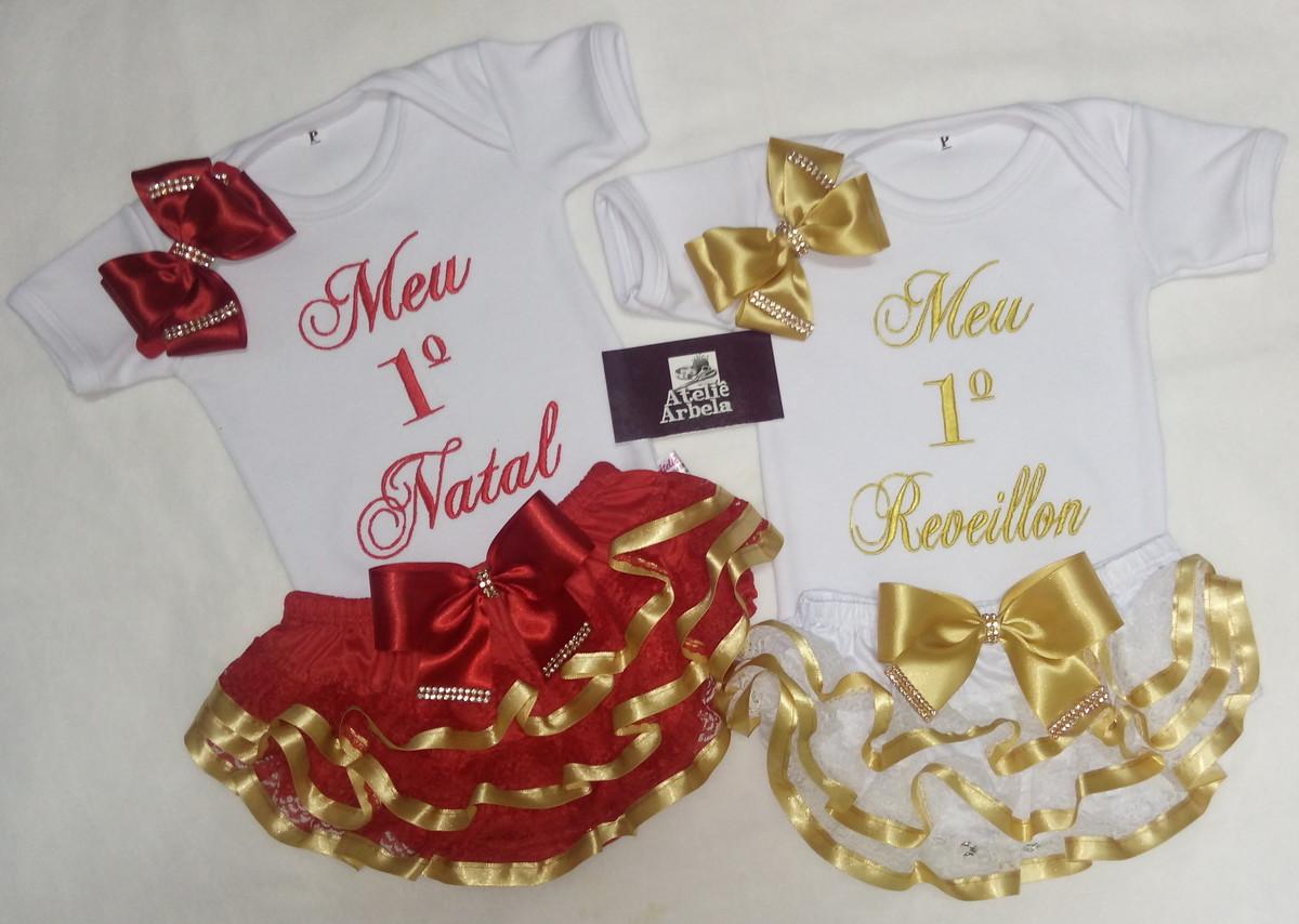 f0e5cb7943001 Kit natal OU reveillon com body + tiara + calcinha bunda ric no Elo7 ...