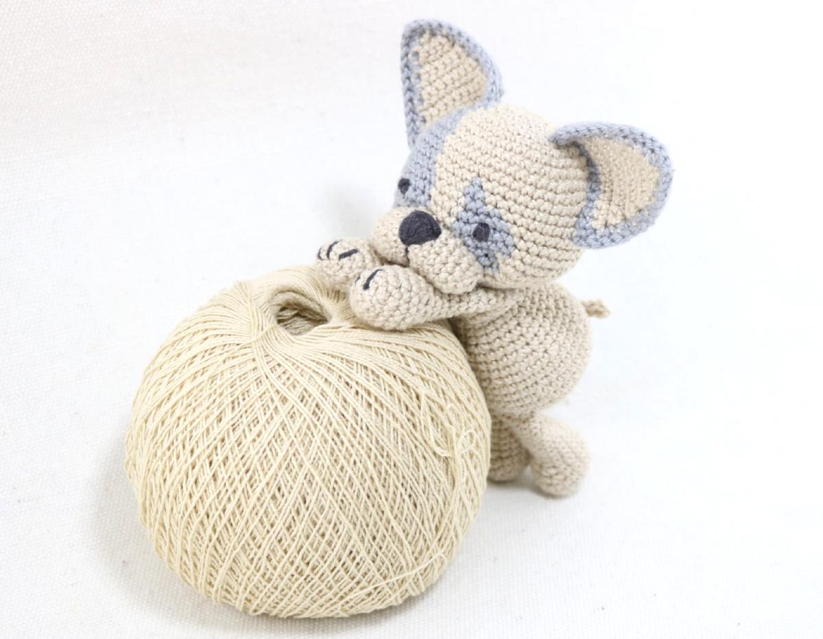 Amigurumi bulldog Frances | Crochet animal amigurumi, Crochet dog ... | 932x1200