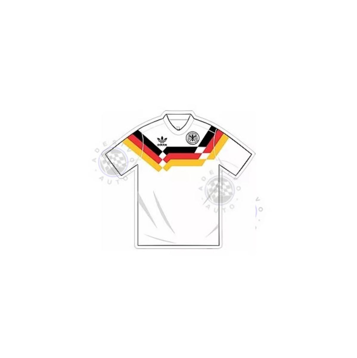ffaae9d51a Adesivo Camisa Seleção Alemanha Futebol Copa Do Mundo 1990 no Elo7 ...