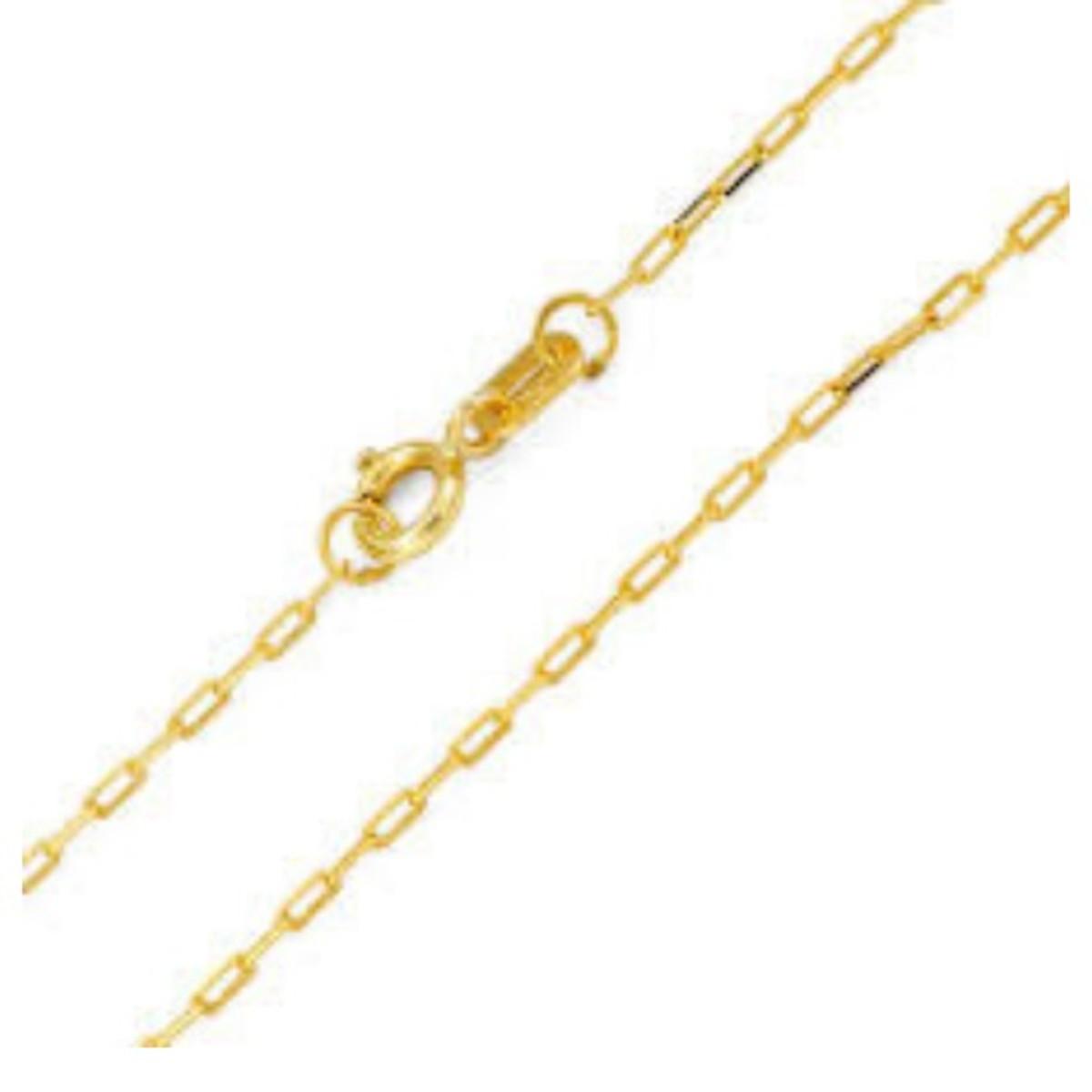 1cd12311694 Corrente Cartier 45cm elo fino em Ouro 18k no Elo7