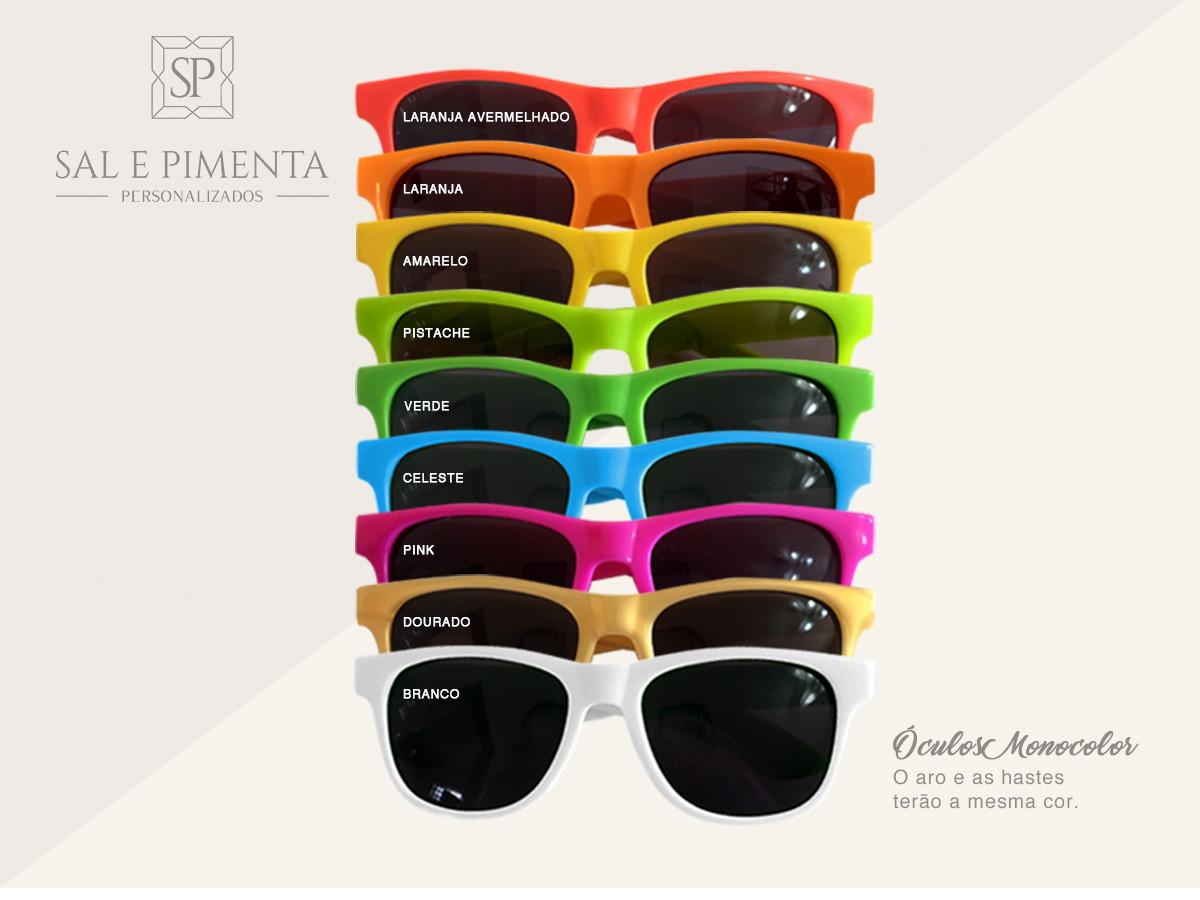 508459a6e Óculos de Sol Adulto no Elo7 | Sal e Pimenta Personalizados (A70EBD)