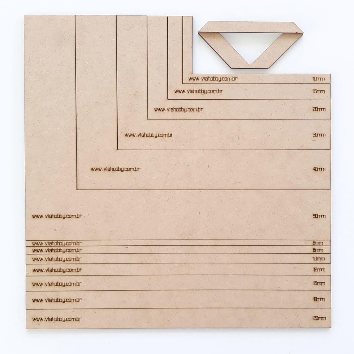 ef1d1110e Zoom · Réguas E Esquadros Para Cartonagem