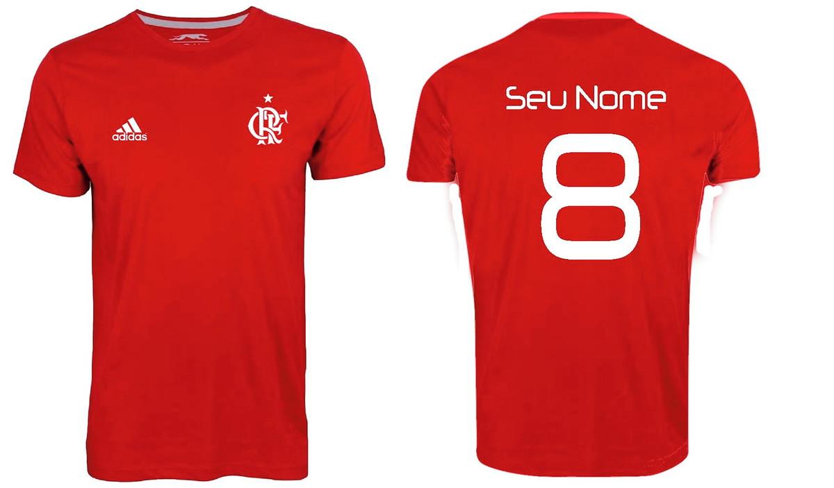 fce89da756c3b Camisa Flamengo no Elo7