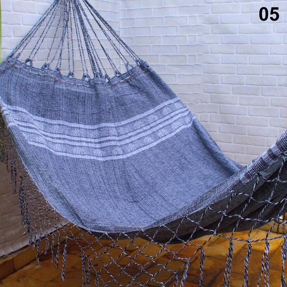 5e8f217fa70c58 Rede De Dormir Descanso Pernambucana Reforçada - Mesclado