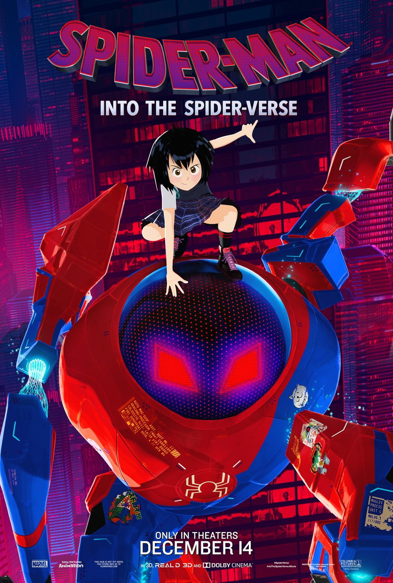 Big Poster Filme Homem Aranha No Aranhaverso 90x60 Cm Lo 005