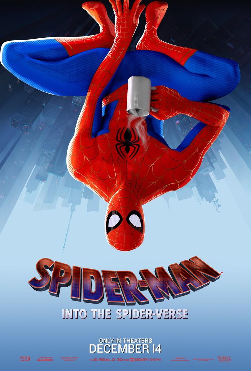 Big Poster Filme Homem Aranha No Aranhaverso 90x60 Cm Lo 007