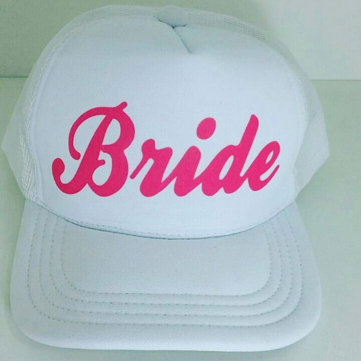 a795daac6d Bone Personalizado Bride, Team Bride... no Elo7 | Casando com Luxxo ...