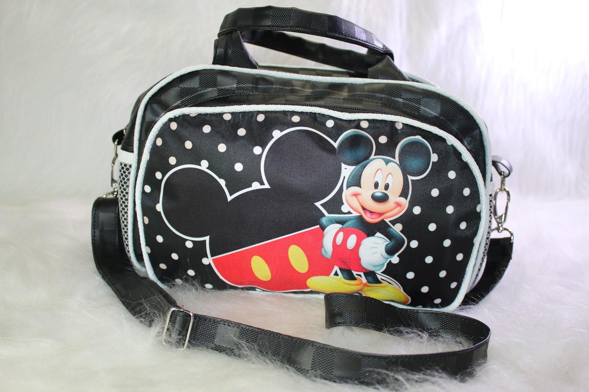 29be46f985e BOLSA MATERNIDADE PASSEIO P (Mickey) no Elo7