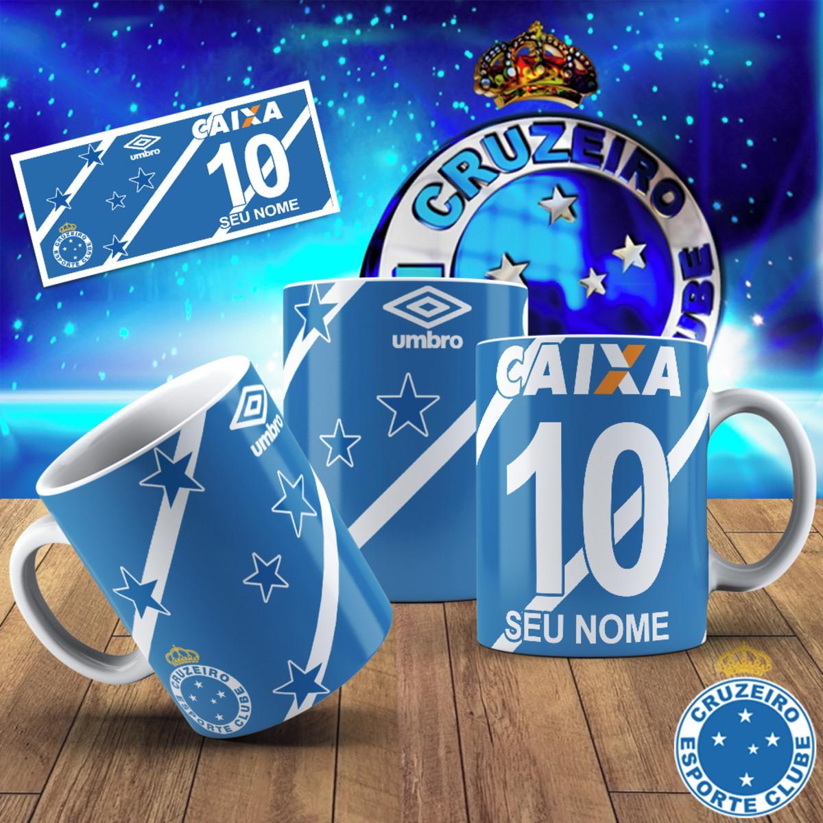 298bd1f31c4b9 Caneca cerâmica - Cruzeiro personalizada no Elo7