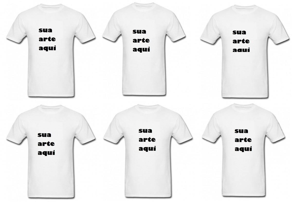 6 camisetas personalizadas com sua arte ou foto no Elo7  6f58b0799c547