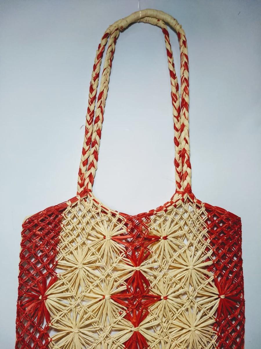 Bolsa artesanal em palha de buriti no Elo7  46c72158e7a