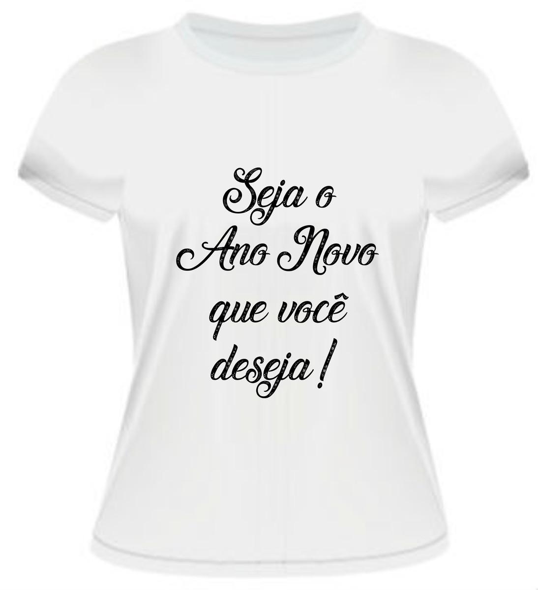 a4d12d55a4 Zoom · Camiseta Seja o Ano Novo