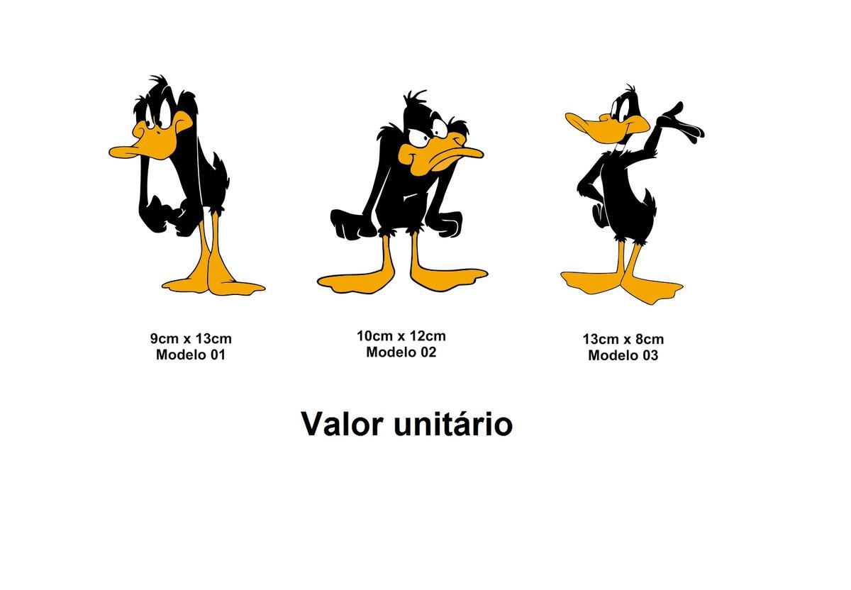 Adesivo Patolino Daffy Duck Looney Tunes Pernalonga Desenho No