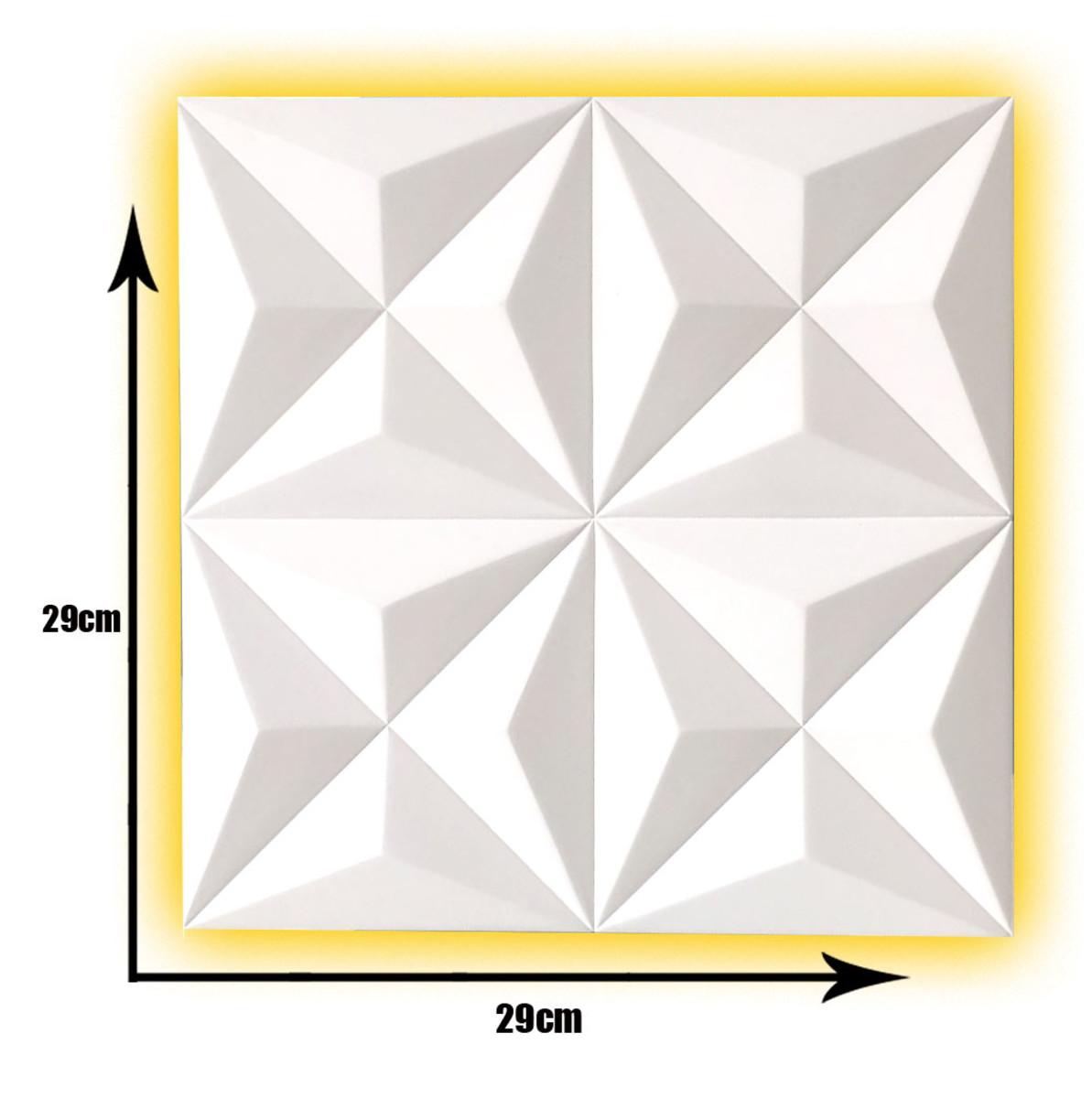 Forma Em Silicone P   Gesso 3d Cullinans 29x29 No Elo7