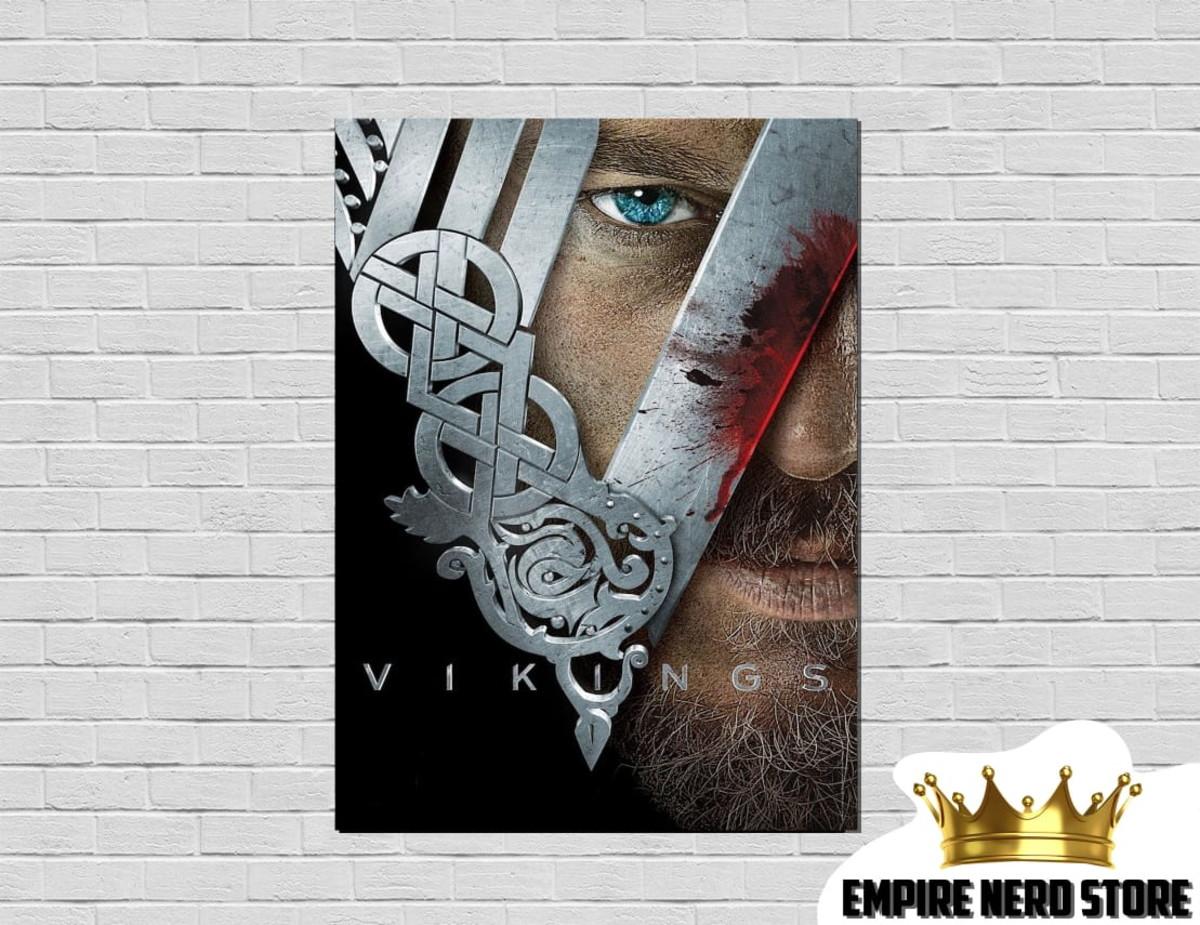 Placa Decorativa Vikings No Elo7 Empire Nerd Store E01e3a