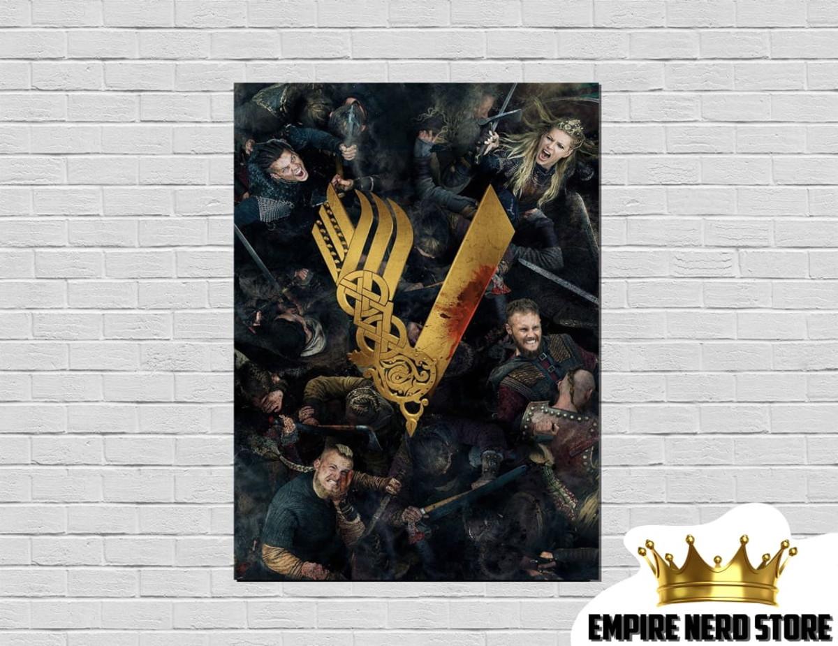 Placa Decorativa Vikings No Elo7 Empire Nerd Store E01e46