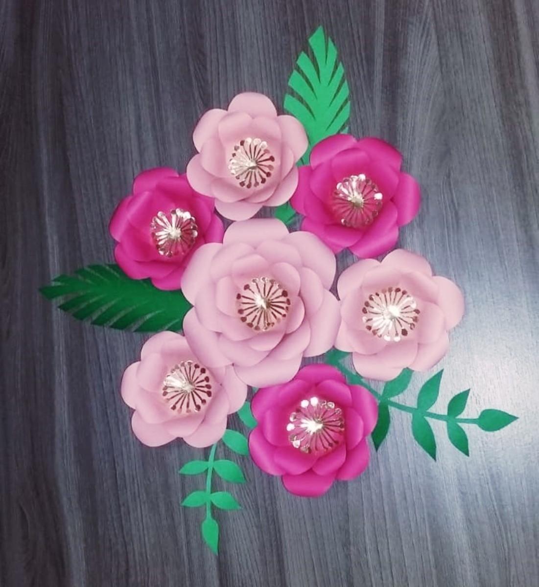 Flores Topo De Bolo Festa