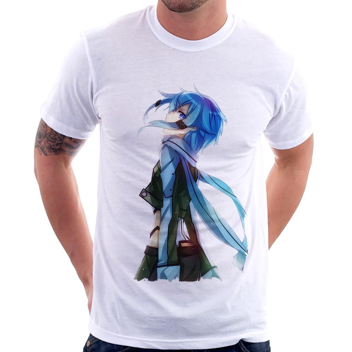 855a85f29 Camiseta Gun Gale Online Shino Asada no Elo7