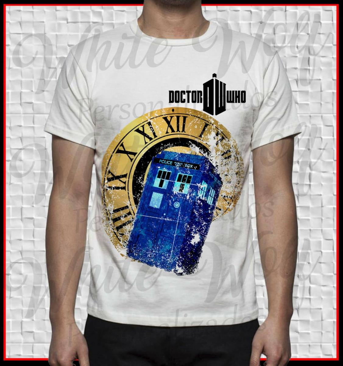 412dc8906 Camiseta do Doctor who no Elo7