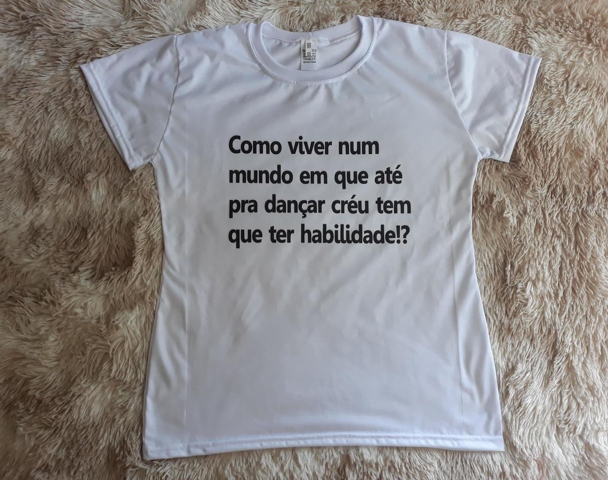 Camiseta Frases Legais