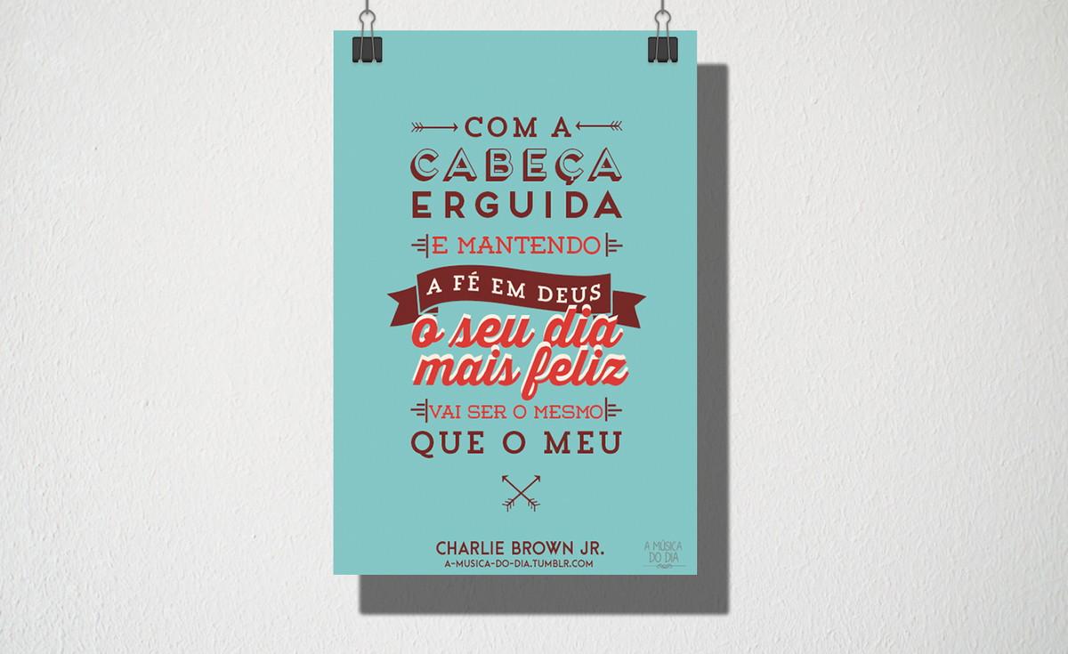 Poster A4 Cabeça Erguida No Elo7 Owl Store E0e86f