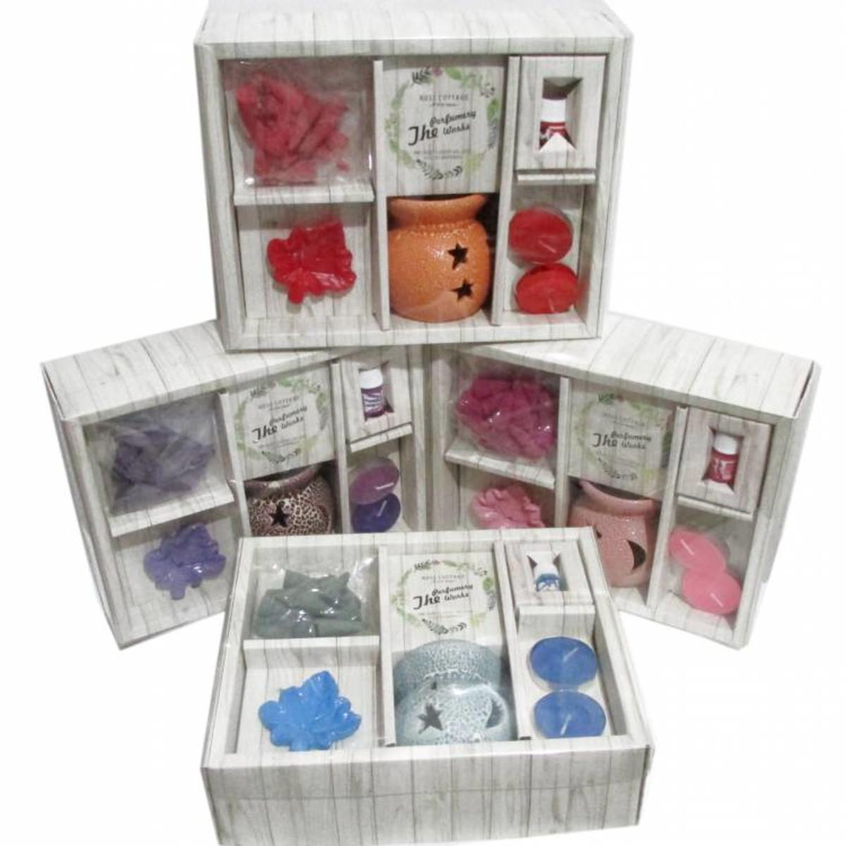 Kit Recho Aromático Rose Cottgae - 4 Opções no Elo7  4d5e1868c1651