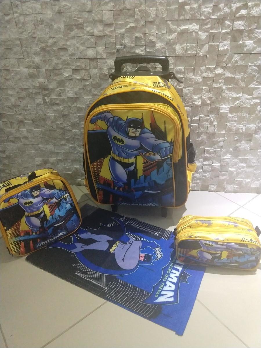 524b92f57 Kit Mochila Infantil Batman de Rodinhas no Elo7 | Tércio (E0E8D2)