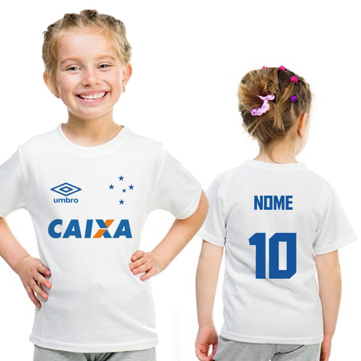 Camiseta Infantil Cruzeiro Personalizada no Elo7  ee5df916cfa73