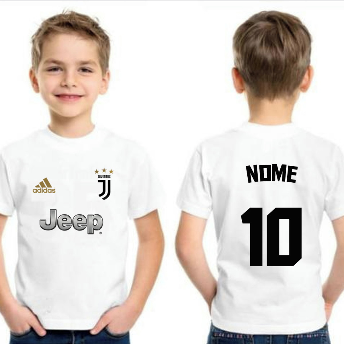 Camiseta Infantil Juventus Italia Personalizada no Elo7  cc65b0293d58f