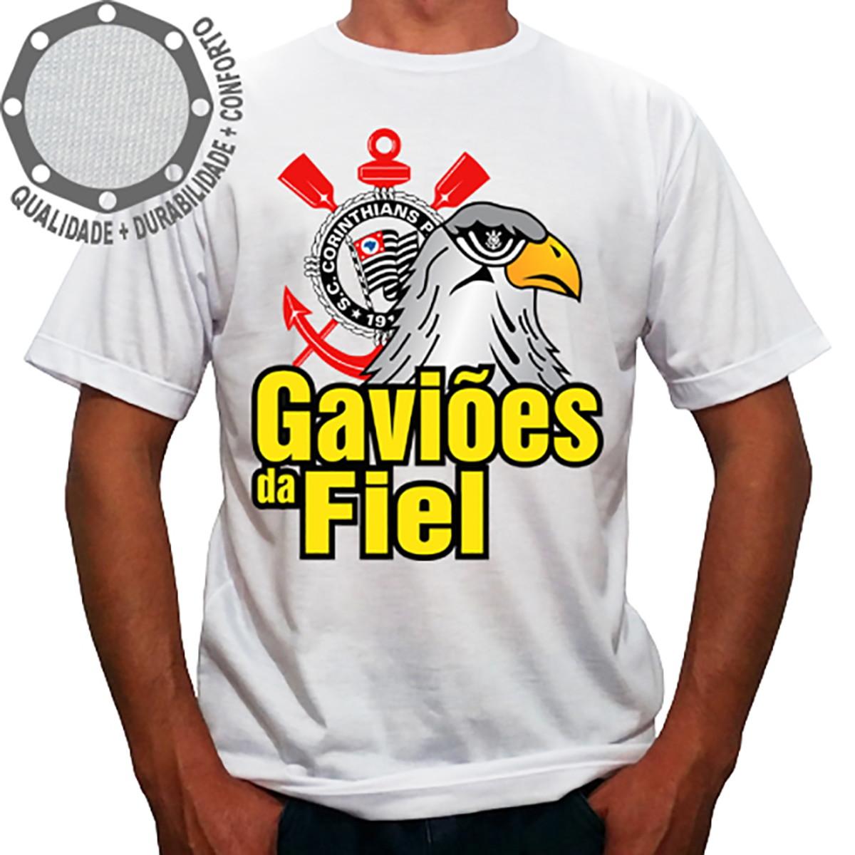 Camiseta Gaviões da Fiel no Elo7  738d230513415