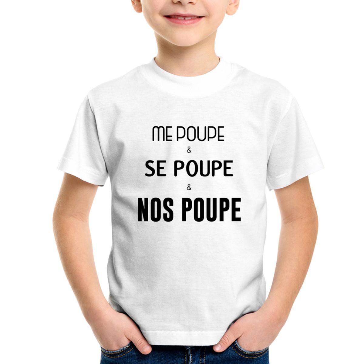 4029b6d41 Zoom · Camiseta Infantil Me poupe