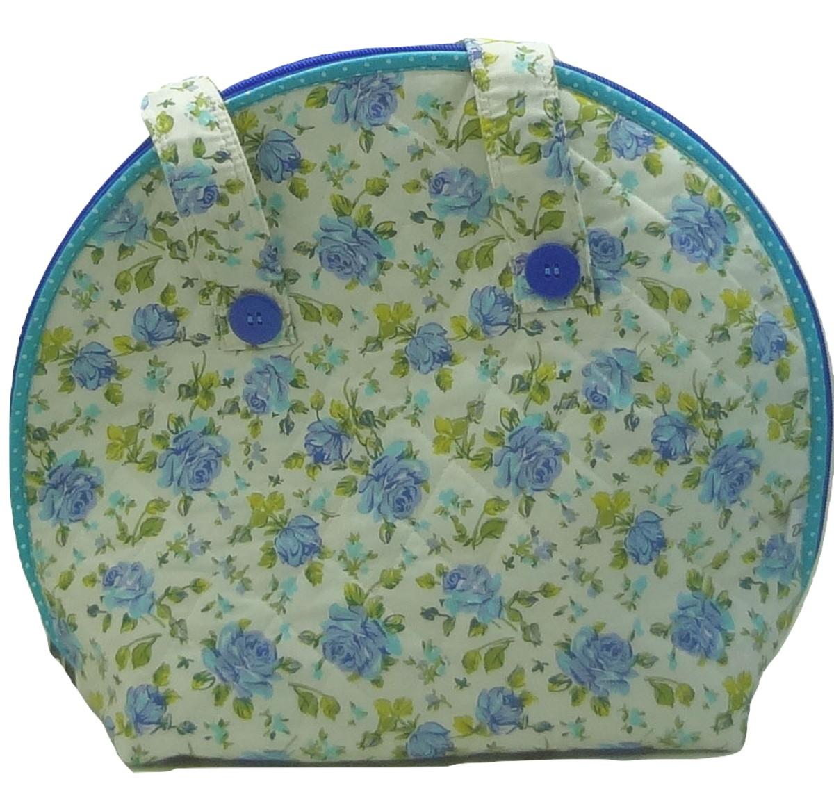 Bolsa Térmica Floral Azul no Elo7  ce71202aeb2