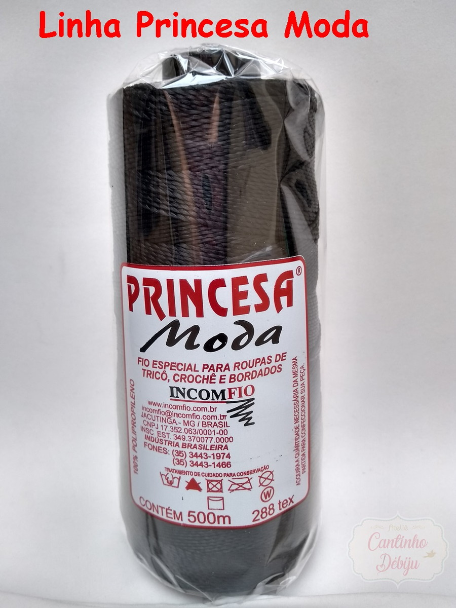 b8643825b2fa Linha Princesa Moda 500m no Elo7   Ateliê Cantinho Débiju (E13FAD)