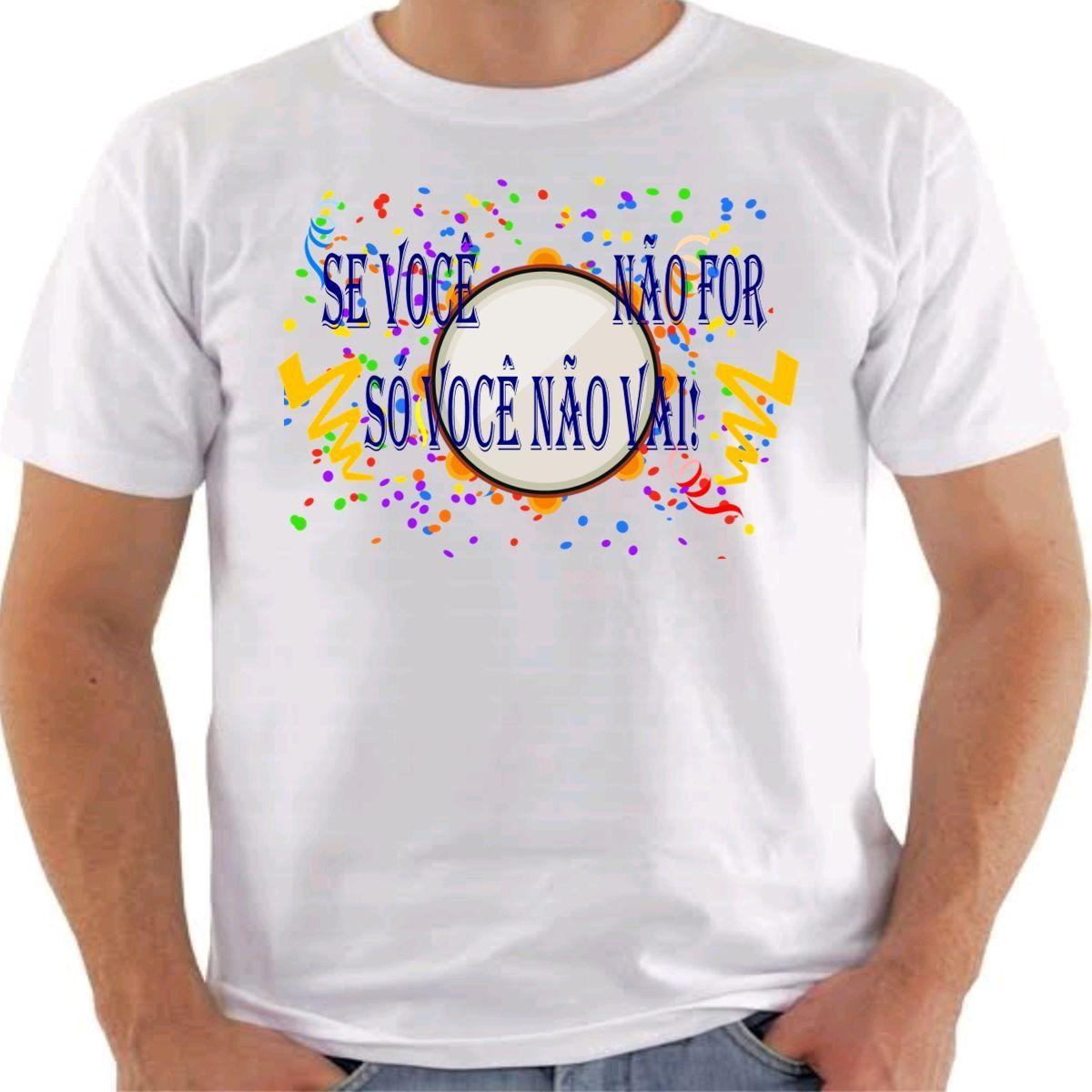 113b64cab7 Camisas Para o Carnaval no Elo7
