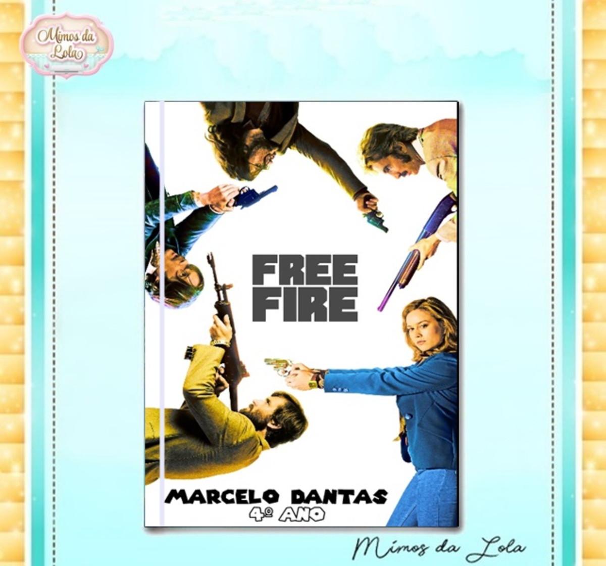 Caderno Brochura Free Fire