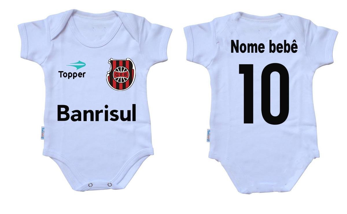 Body bebê time de futebol Brasil de Pelotas no Elo7  865c0c1e85b35