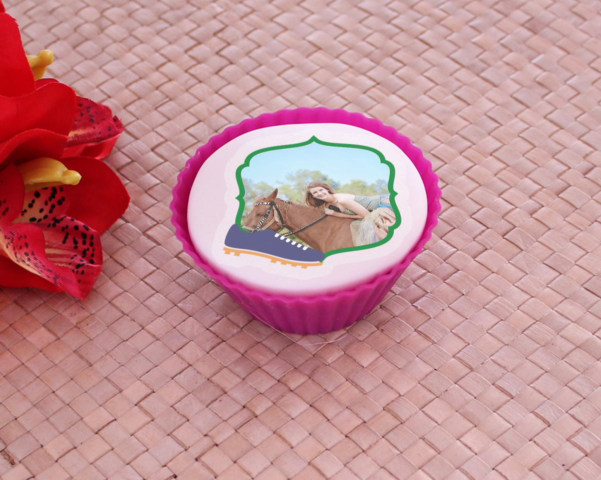 Aplique papel arroz comestível com foto - Brasil chuteira no Elo7 ... 6a76f8d3053ce