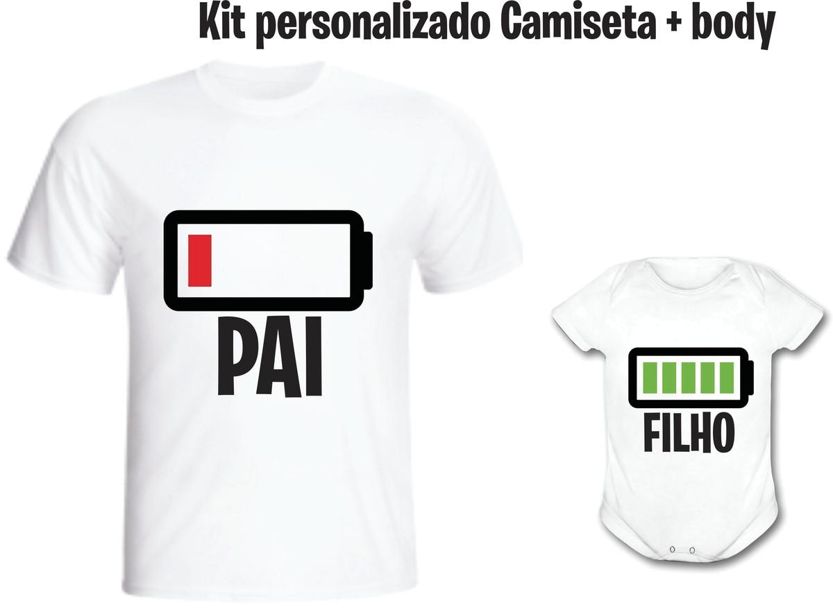 Camiseta Pai Ou Mãe Bateria Gasta + body - Personalizado no Elo7 ... 8bab346bee6f8