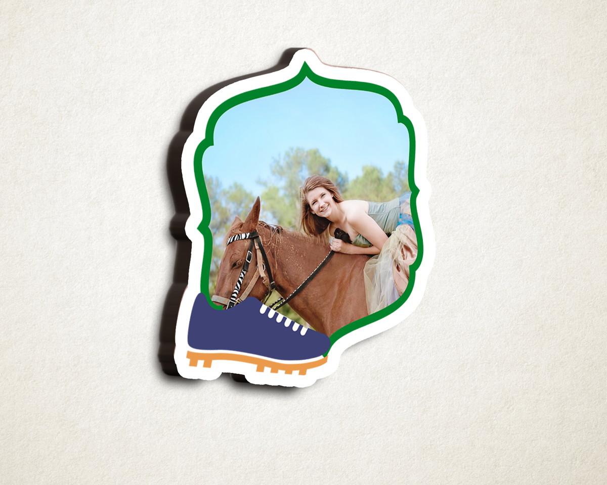 Aplique placa quadro com foto - MDF - Brasil chuteira no Elo7  b29bd5fc06711