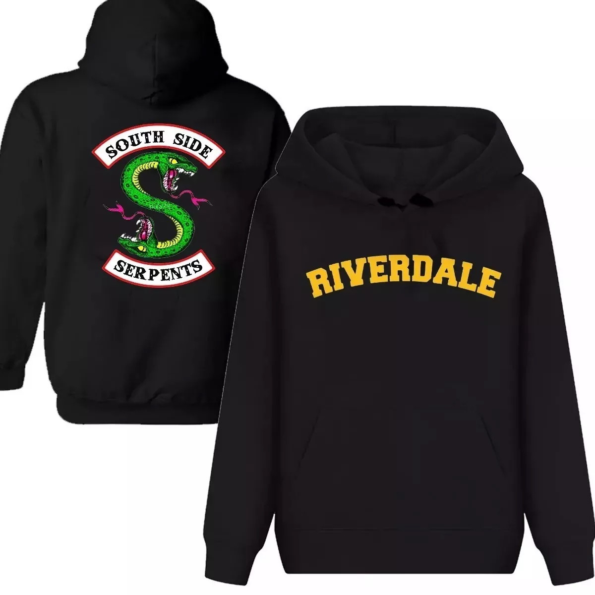 94e3cc37b Blusa Moletom Riverdale Netflix Serie Bulldogs Serpentes no Elo7 ...
