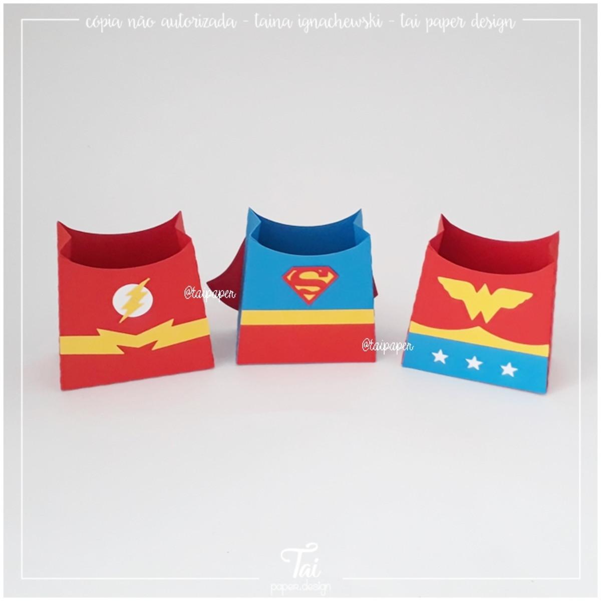 Kit Arquivo De Corte - Super Heróis - png/pdf/dxf/svg/studio