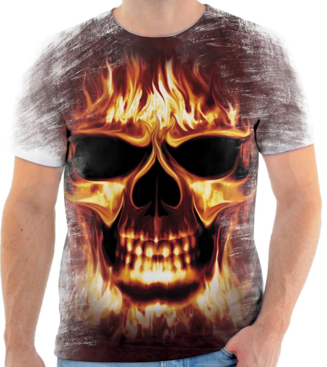 PROMOÇÃO LIQUIDAÇÃO Camiseta Caveira Tamanho G Regata no Elo7 ... 2f0fcc29ddefe