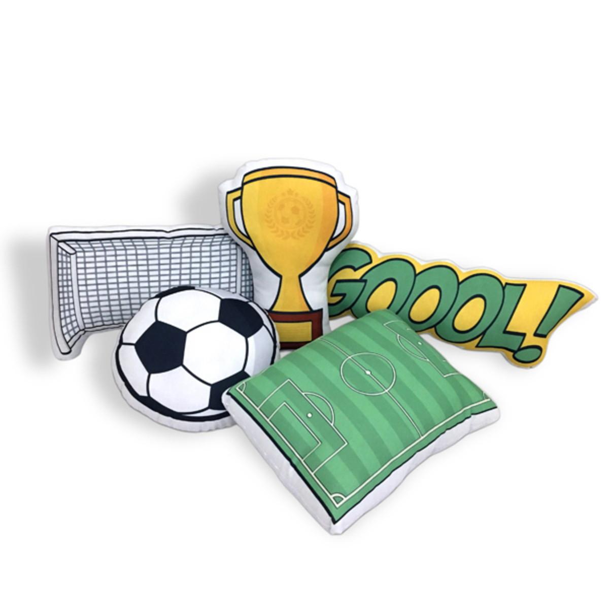 bd300153bf Kit Almofadas Futebol no Elo7