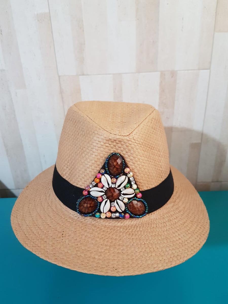 Chapéu de palha Panamá no Elo7  00054e8f819