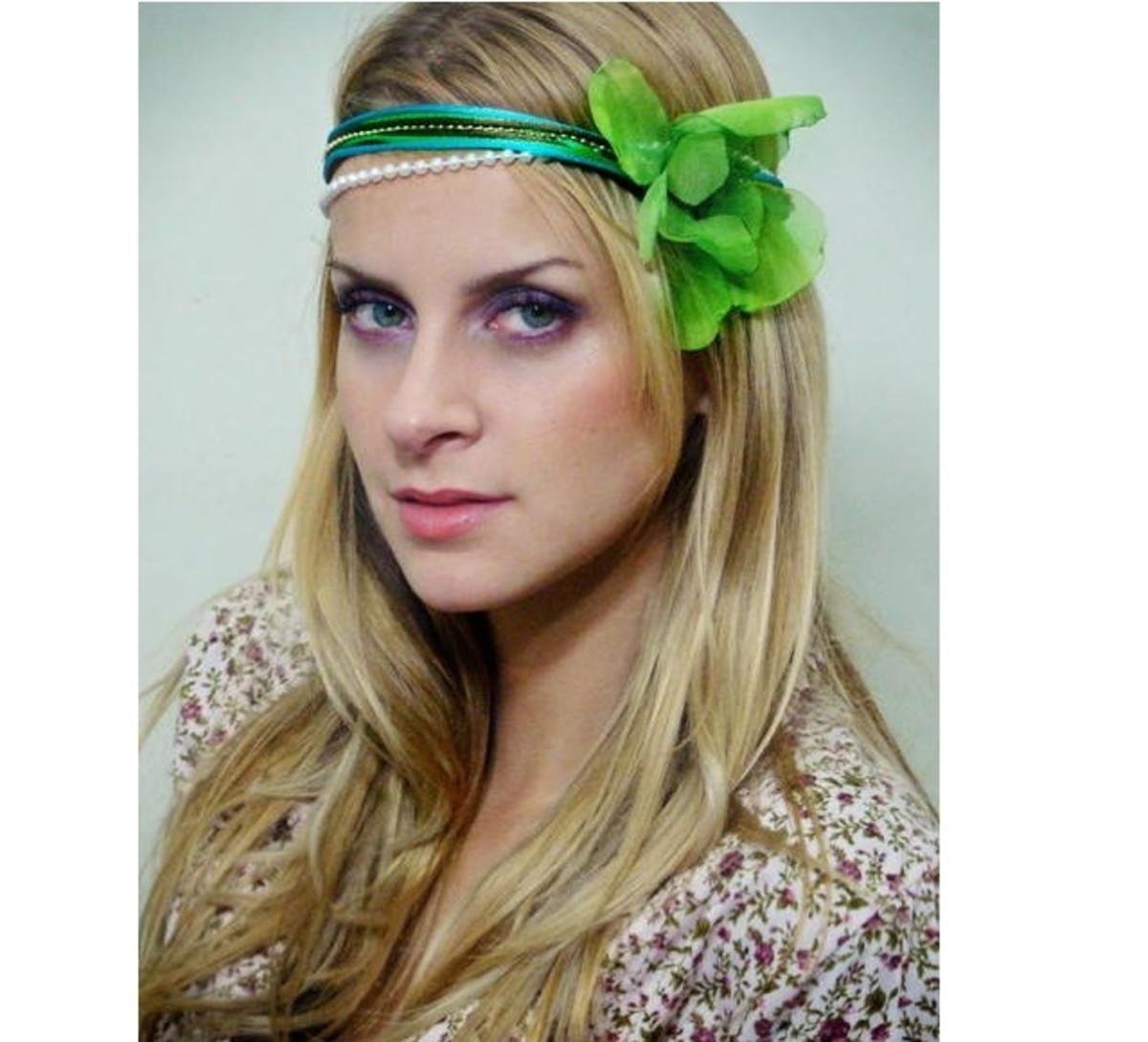 Headband Verde Agua no Elo7  dc625db5ded