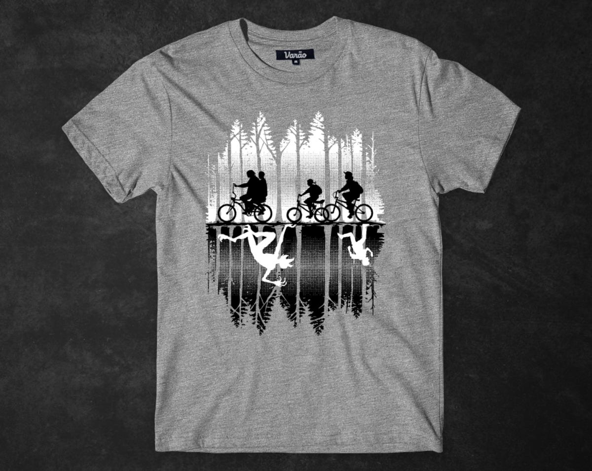 9cb7ad847618 Camiseta Stranger Things - Mundo Invertido
