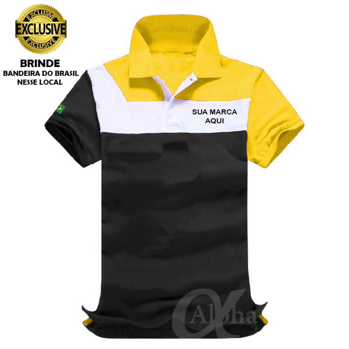 c62253e83c Camiseta pólo modelo exclusivo uniformes profissionais kit 4 no Elo7 ...